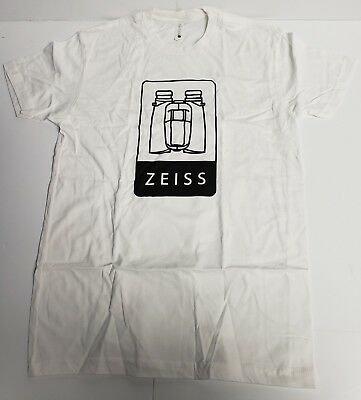 """Ziess """" Binoculars """" Mens T-Shirt - White - Small for sale  Shipping to India"""