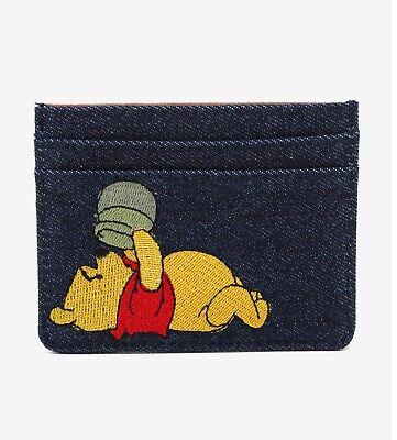 NWT Her Universe Disney Winnie the Pooh Denium Cardhoder
