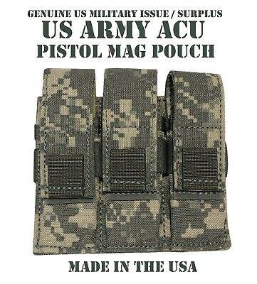 SPECTER GEAR 279 ACU US ARMY MILITARY MOLLE TRIPLE PISTOL MAG DUTY BELT POUCH