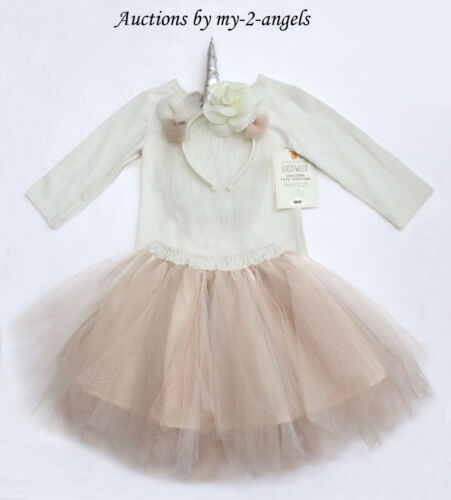 NEW Pottery Barn Kids UNICORN TUTU HALLOWEEN COSTUME 7-8 7 8 YRS * magical GIRL