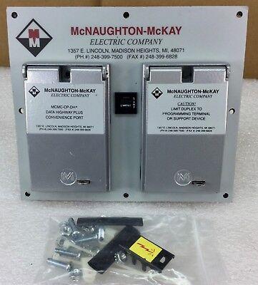 Mcnaughton Mckay Mcmc-cp2-dh-dp8 Data Highway Convenience Panel New Condition