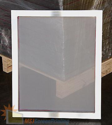 12 Pack - 20x24 Aluminum Alum Frame Screen Printing Screens W 110 White Mesh