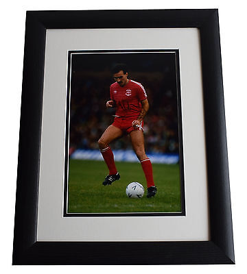 Willie Miller SIGNED FRAMED Photo Autograph 16x12 LARGE display Aberdeen & COA