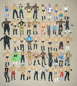 WWE-WRESTLING-ACTION-FIGURE-SERIES-CLASSIC-SERIES-DELUXE-TNA-IMPACT-MATTEL-WWF