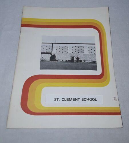 TOLEDO OHIO ST CLEMENT ELEMENTARY SCHOOL YEARBOOK 1977-1978