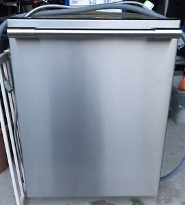 "Frigidaire 24"" stainless steel under-counter dishwasher"