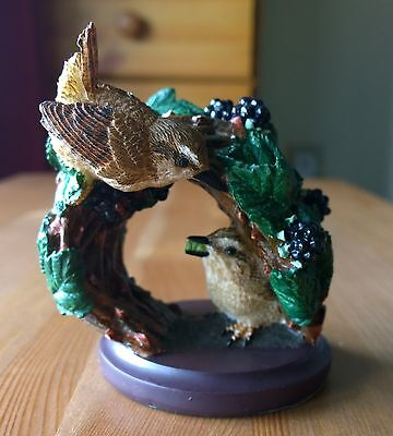 The Country Bird Collection - The Wren Ornament/Figurine