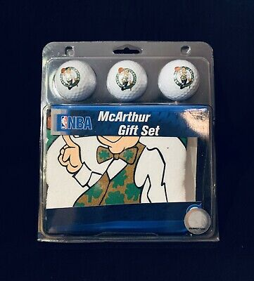 Brand New PGA & NBA Boston Celtics Golf Ball Gift -