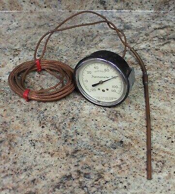 Johnson Service Company 71678-3 -20 - 110f Remote Thermometer With Probe