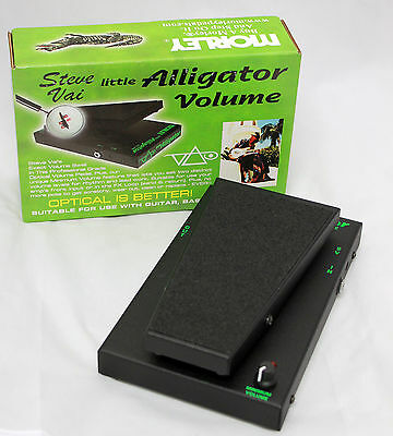 Morley PLA Steve Vai Little Alligator Volume Guitar Volume Pedal