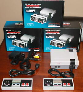 Brand New 620 Game AV Console & 2 Controllers