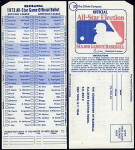 1973-RARE-MLB-ALL-STAR-BASEBALL-GAME-UNUSED-BALLOT-at-KANSAS-CITY-ROYALS-STADIUM