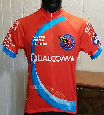 8f39b5bd7 SUAREZ Cycling Jersey Qualcomm Million Dollar Challenge CAF Sz M