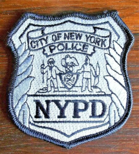 GEMSCO NOS NYPD Collectible Patch POLICE OFFICER RANK PATCH NYPD NY Original 30+