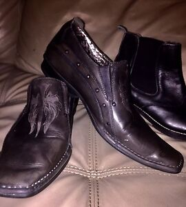 Mark Nason shoes and leather boots! Men's size 8-8.5 !