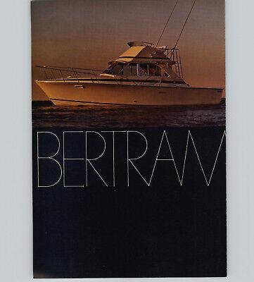 1970 PAPER AD 2 PG Bertram 35' Sport Fisherman Motor Boat