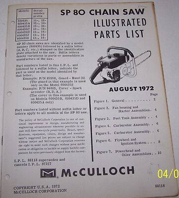 Mcculloch Engine Trainers4Me