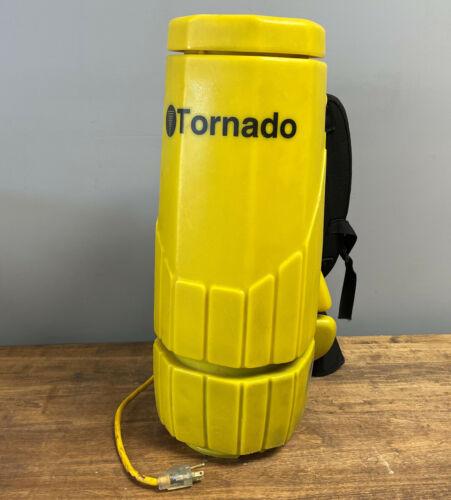 Tornado Quad Filtration Micro-Liner Backpack Vacuum 120CFM 1122W 115V