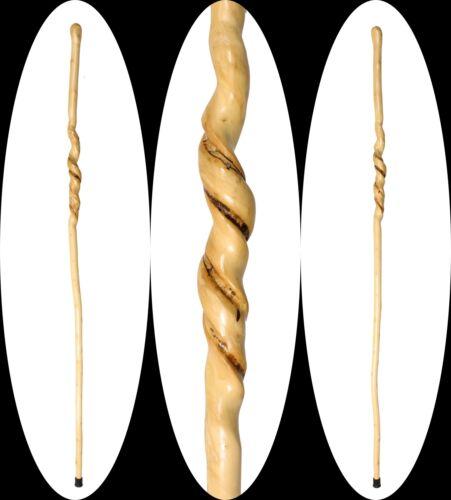"80"" Natural Vine Twisted Walking Stick Cane Wood Staff Trekking Pole Hiking USA"