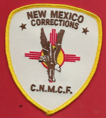 CENTRAL NEW MEXICO CORRECTIONS POLICE SHOULDER PATCH