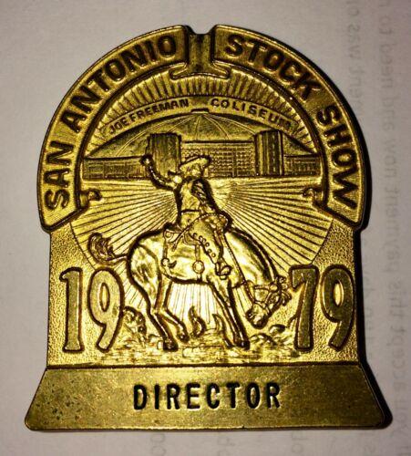 1979 San Antonio Stock Show & Rodeo Pin: Director