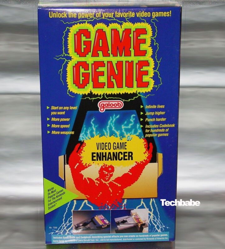 NES Game Genie By Galoob for Nintendo system in New Box (UNTESTED)