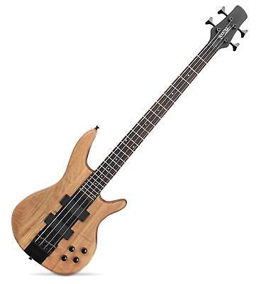Basse Electrique Guitare Bass 2 Micros Humbucker 4 Corde Design LowBone Ecru