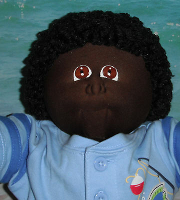CPK Xavier Roberts Cabbage Patch Soft Sculpture 1980's AA Fudge Boy