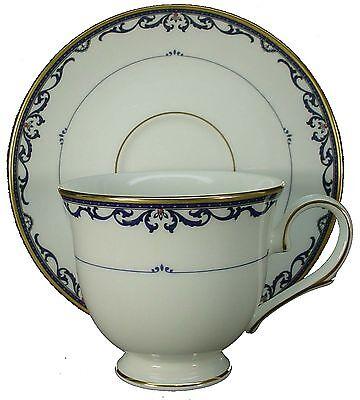 Lenox Royal Scroll - LENOX china ROYAL SCROLL pattern CUP & SAUCER Set
