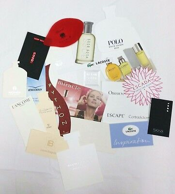 20 x Duftkarten / 20 x perfumed card / 20 x carte parfumée *LOT 007*