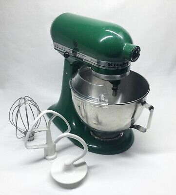 Kitchenaid Ultra Power Stand Mixer 4.5QT Bowl, Beater, Whisk, Dough Hook, Guard