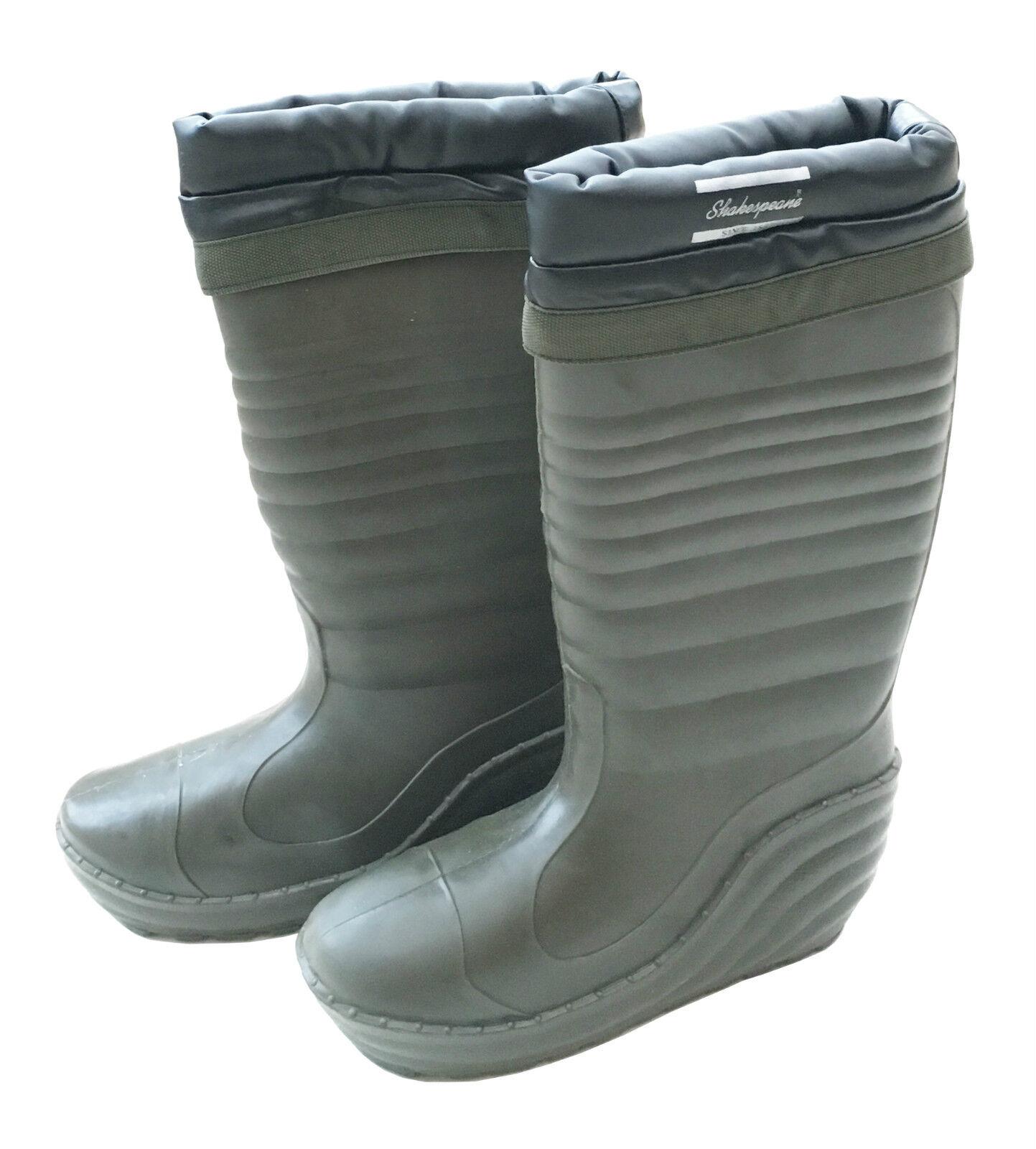 Shakespeare thermique hiver bottes de pêche avec doublure thermique amovible