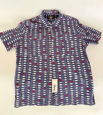 Ralph Lauren RRL Men's Camp Shirt Size M NWT