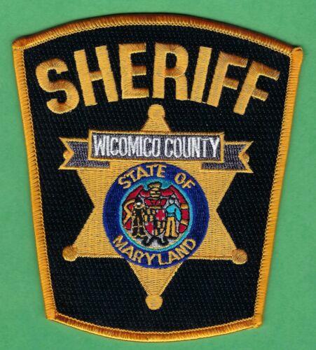 WICOMICO COUNTY SHERIFF MARYLAND SHOULDER PATCH