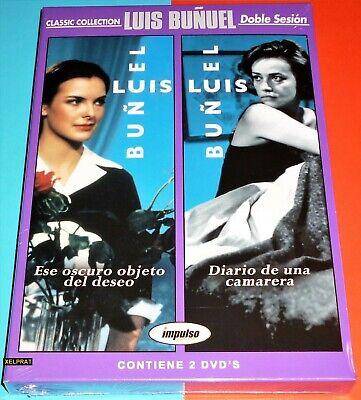 ESE OSCURO OBJETO DEL DESEO + DIARIO DE UNA CAMARERA Luis Buñuel...