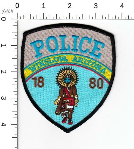 WINSLOW ARIZONA POLICE PATCH INDIAN AZ