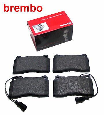 SATZ BREMBO BREMSBELÄGE BREMSKLÖTZE HINTEN ALFA ROMEO 156 1.6-3.2 BJ 02-06