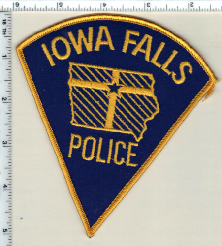 Iowa Falls Police (Iowa)  Shoulder Patch - new from 1990