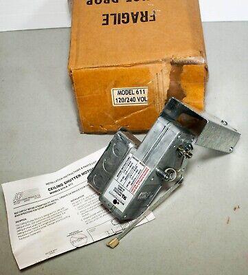 Acp Model 611 Ceiling Damper Shutter Motor 120240v