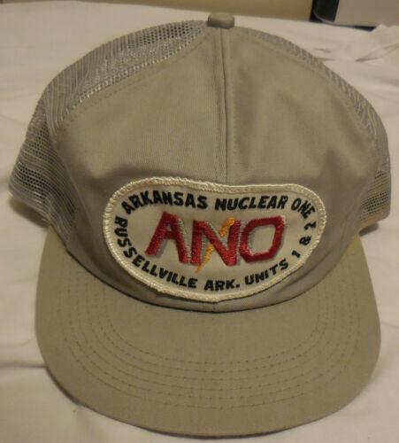 Vintage Arkansas Nuclear One Russellville Units 1 & 2 Hat Trucker Style Snapback