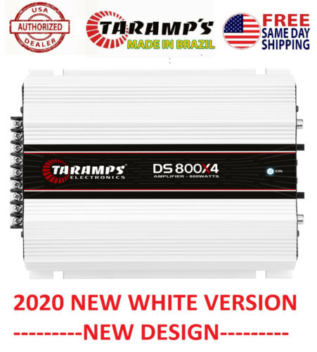 Taramps DS800X4 2 OHMS 800W AMPLIFIER - USA DEALER - SAME DAY SHIPPING