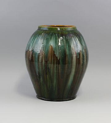 Keramik Vase Laufglasur Jugendstil um 1900 7645016