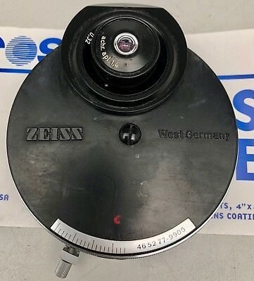 Zeiss Microscope Achr Apl.14 Phase Contrast Condenser 465277-9905 46 52 77-9905