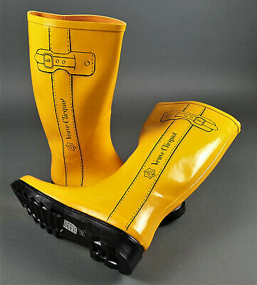 Veuve Clicquot Champagner Gummistiefel Yellow Label Rain Boots Größe 40/41 (648)