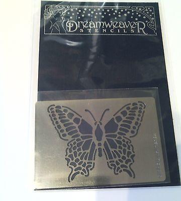 """Dreamweaver Stencils """"Butterfly"""" Metal Stencil 3.25"""" x 2.25"""""""