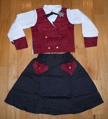 NEW! VINTAGE JC PENNY'S COWPOKE GIRL COWGIRL HALLOWEEN COSTUME METAL BADGE SZ - Vintage Cowgirl Costume