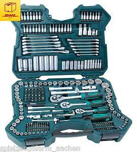 Mannesmann M98430 Steckschlüsselsatz Werkzeugsatz 215tlg 98430  Werkzeugkoffer