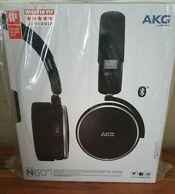 AKG N60nc Wireless First Class Noise Cancelling Headphones *Brand New*