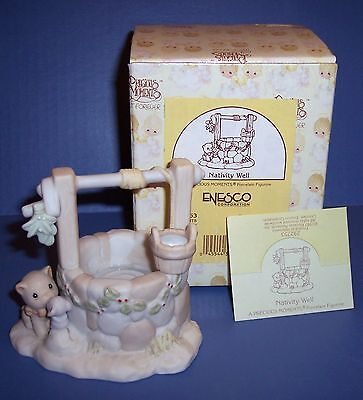 Precious Moments Nativity Addition Well  New in Box