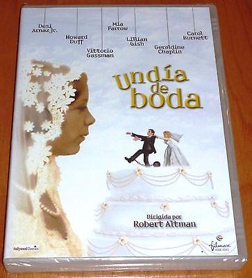 UN DIA DE BODA / A WEDDING Robert Altman ENGLISH ESPAÑOL -...